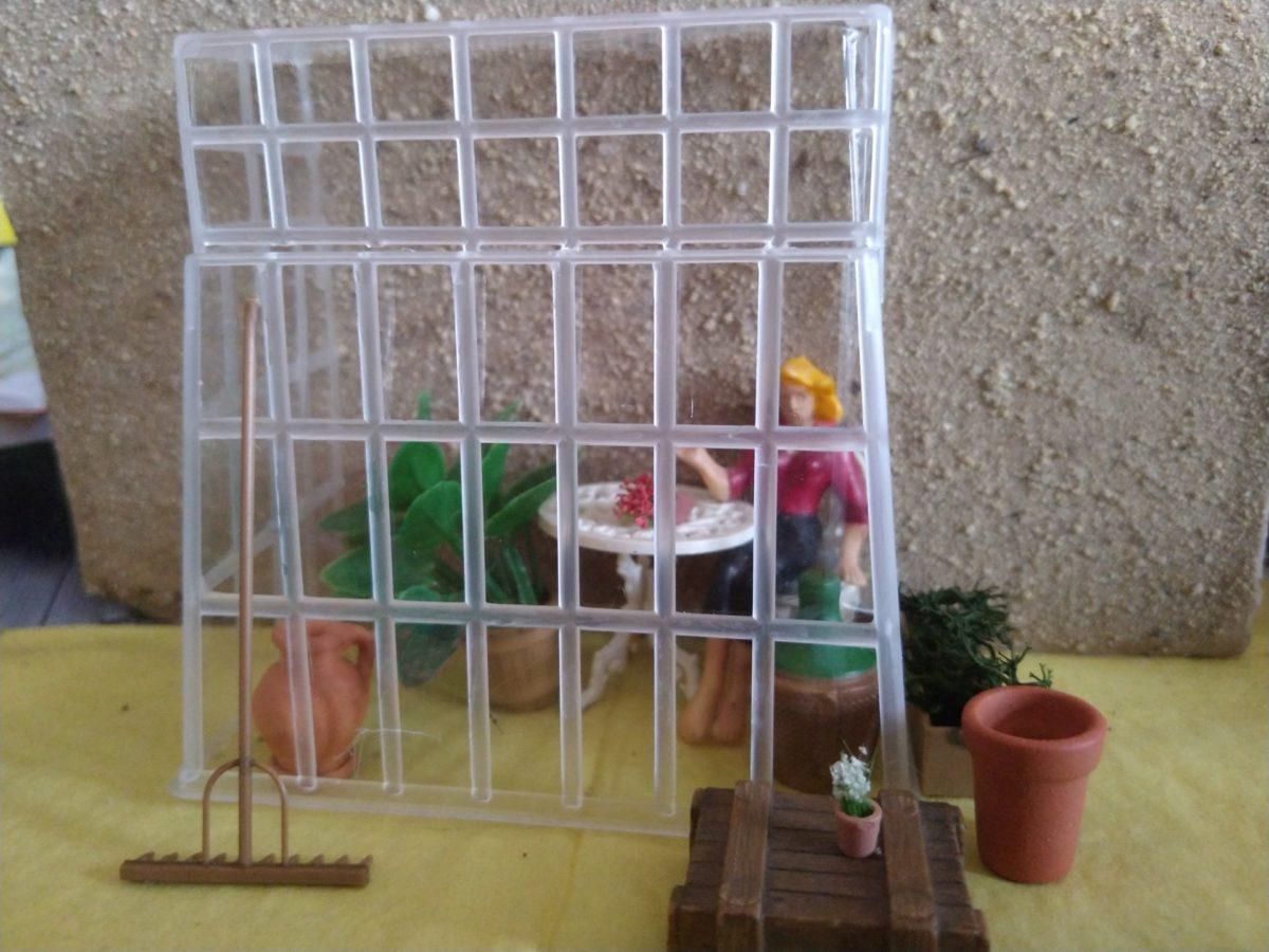 Modell-Gewächshaus selber bauen
